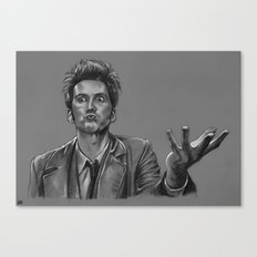 Ever So Slightly Mad - Doctor Who Canvas Print