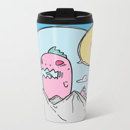 Monsters Metal Travel Mug