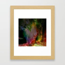 Fishy, fishy, fishy fish Framed Art Print