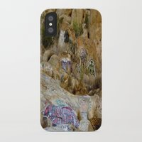 grafitti iPhone & iPod Cases featuring Rock Grafitti by Sydney Major