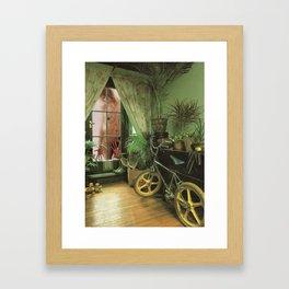 Green Room Framed Art Print