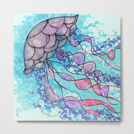 Jelly Welly Metal Print