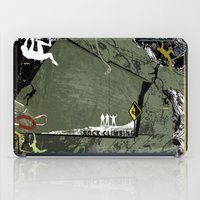climbing iPad Cases featuring Rock Climbing by Robin Curtiss