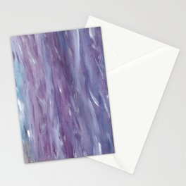 Touching Purple Blue Watercolor Abstract #1 #painting #decor #art #society6 Stationery Cards
