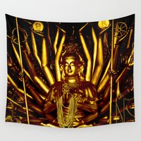 thailand Wall Tapestries featuring Thailand by very giorgious
