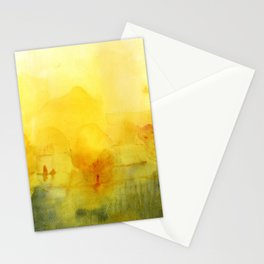 Memory of a landscape Stationery Cards