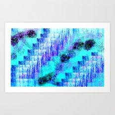mavinin sırrı Art Print