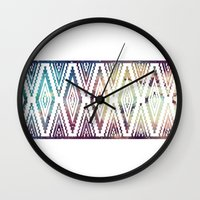 diamonds Wall Clocks featuring Diamonds by Last Call