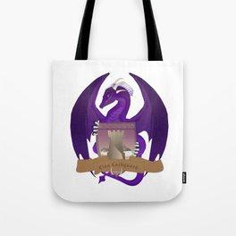 Clan Lochguard Purple Dragon Crest Tote Bag