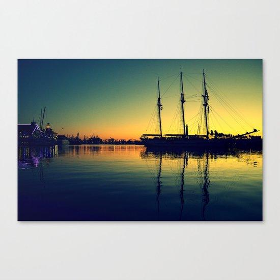 ~ Placid Dusk ~ Sail at Dawn ~ Canvas Print