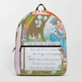 Kate Greenaway - Valentine, pygmy - Digital Remastered Edition Backpack