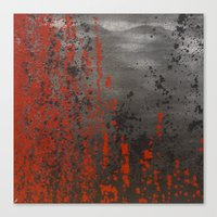 sin city Canvas Prints featuring sin city by artpaigestudio