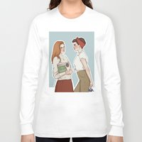 lydia martin Long Sleeve T-shirts featuring Allison Argent/Lydia Martin 50's AU by vulcains