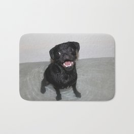 Pug bath Bath Mat