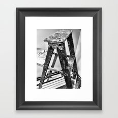 Painter's Ladder Framed Art Print