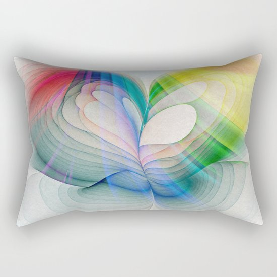 Free to Live & Love Rectangular Pillow