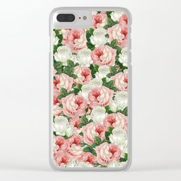Juliet -  Romantic Roses Clear iPhone Case