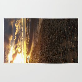 Stormy  Superior Sunset Rug