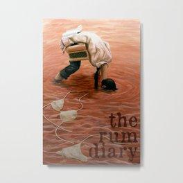 The Rum Diary Metal Print