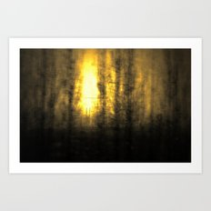 Train View Art Print