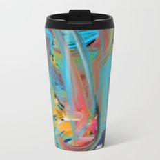 The Storm Abstract Expressionism Art Travel Mug
