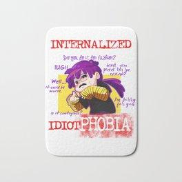 Idiotphobia Bath Mat