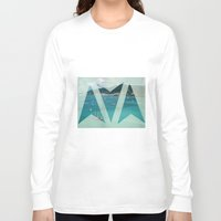 boats Long Sleeve T-shirts featuring Boats by Ria*