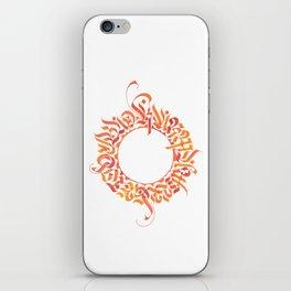 Karma will get you bad ;) iPhone Skin