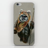 ewok iPhone & iPod Skins featuring Ewok by Sam Luotonen