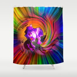 Abstract in perfection - Fertile Imagination Shower Curtain