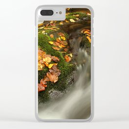 Rushing Though Clear iPhone Case