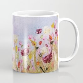 Look to the light, skyscape, landscape, flowers, wild flowers, clouds Coffee Mug