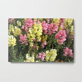 Hiding in the Flowers Metal Print