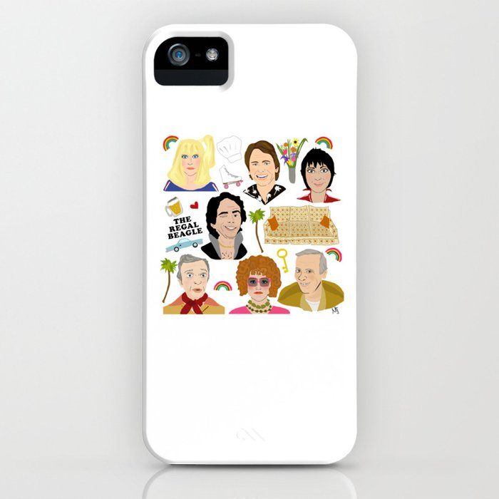 Three's Company Universe iPhone Case