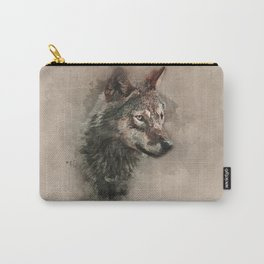 European Wolf Carry-All Pouch