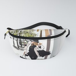 Autumn Girl Fanny Pack