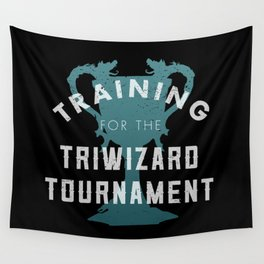 Training: Triwizard  Cup Wall Tapestry