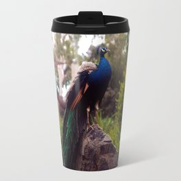 Peacock Rock Travel Mug