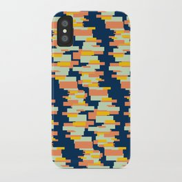 BP 62 Rectangle Stripes iPhone Case