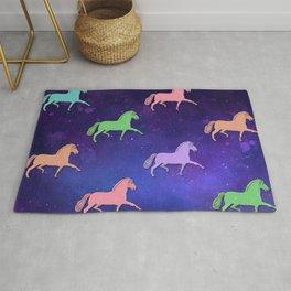 Rainbow Ponies Rug