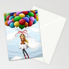 Balloons Stationery Cards