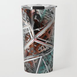 Broken pieces Travel Mug