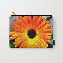Orange Garden Marigold in the Evening Carry-All Pouch