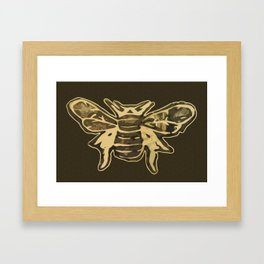 Bombus lucorum Framed Art Print