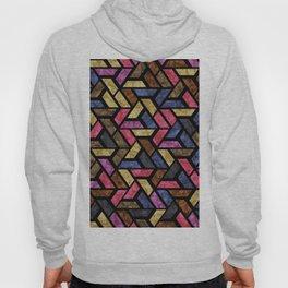 Seamless Colorful Geometric Pattern XIII Hoody