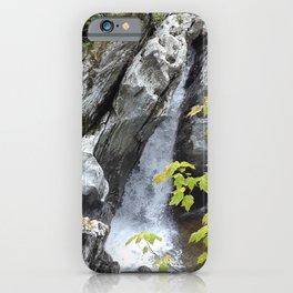 Falls at Huntington Gorge, VT iPhone Case