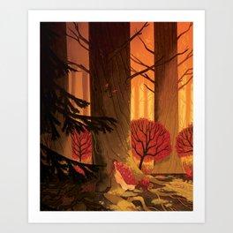 Blindsprings Page Five Art Print