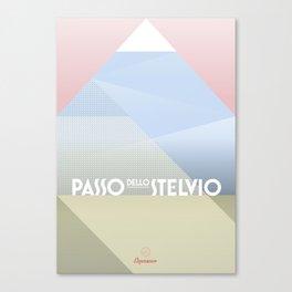 Passo dello Stelvio / Cycling Canvas Print