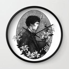 SHERLOCK   POTO AU - Sherlock Holmes Wall Clock