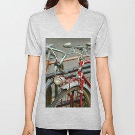 Bicycles of Paris Unisex V-Neck